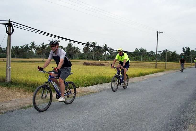 Vietnam Cylcing Tours - Biking Vietnam - MEKONG CYCLING TWO DAYS