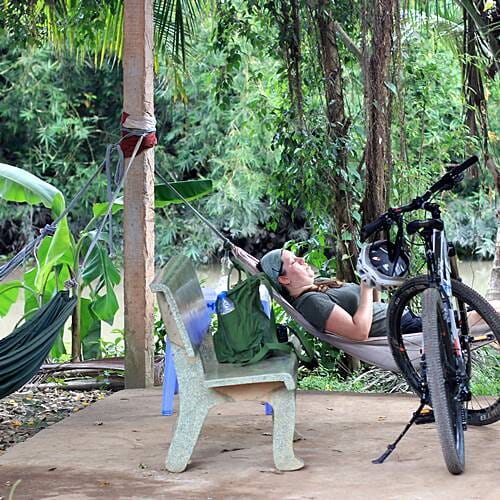 Mekong Cycling - do what the local people do