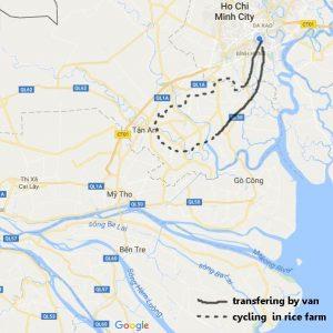 Mekong bike one day