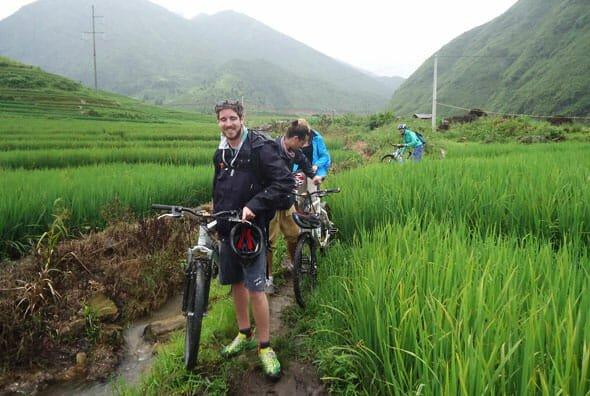 North Vietnam Cycling