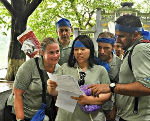 Vietnam Scavenger Hunt - Team Building
