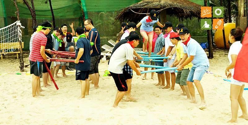 Vietnam Team Building - Outdoor team Building