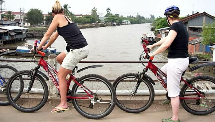 Vietnam Cylcing Tours - Biking Vietnam - MEKONG CYCLING TWO DAYS