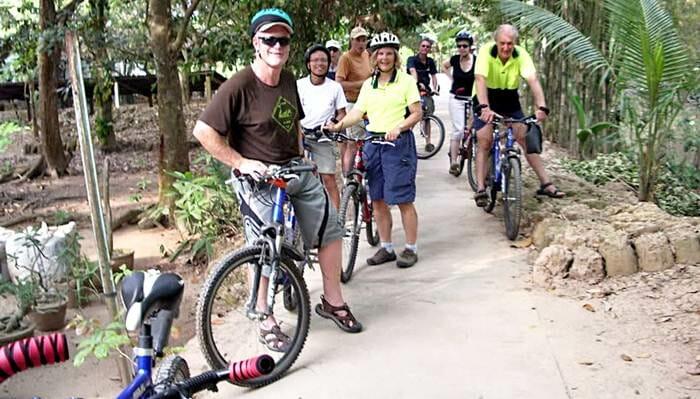 Vietnam Cycling Mekong