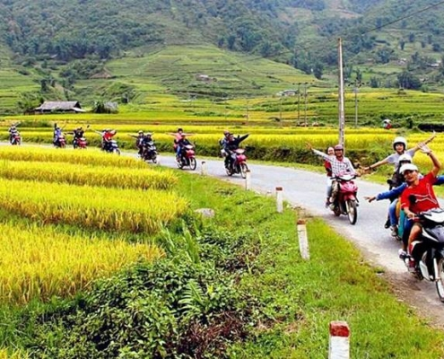 Biking trips in Vietnam