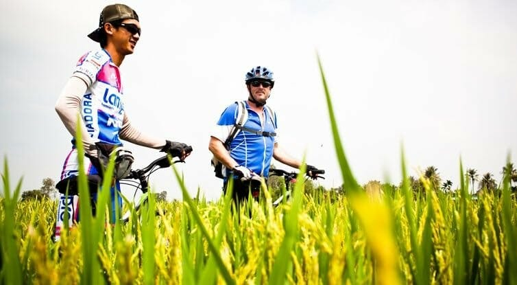 Mekong Delta biking exploration
