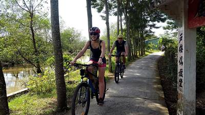 Vietnam bicycle touring